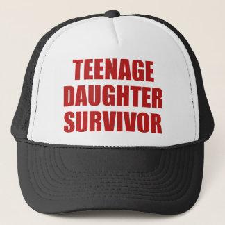 Teenage Daughter Survivor Trucker Hat