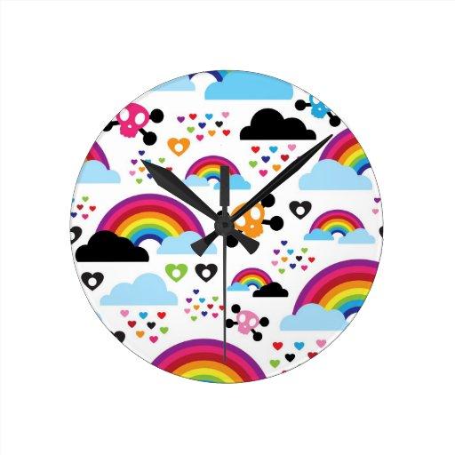 rainbow and black emo wallpaper - photo #17