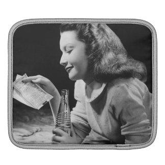 Teenage Girl iPad Sleeve