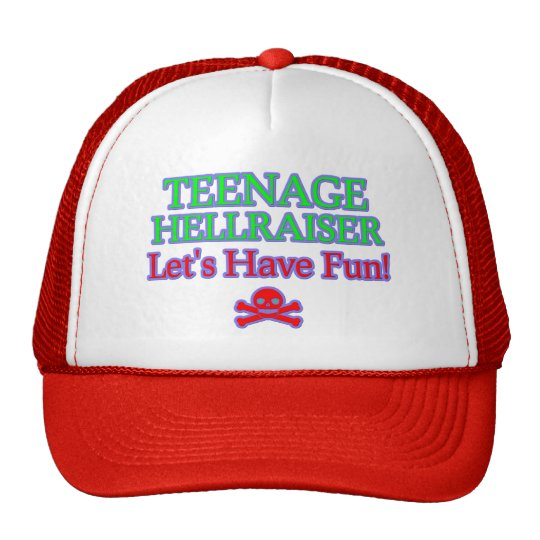 Teenage Hellraiser Trucker Hat