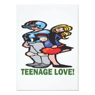 Teenage Love Card