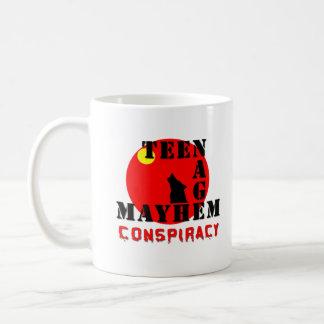 Teenage Mayhem Conspiracy Mug