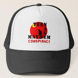 Teenage Mayhem Conspiracy Trucker Hat