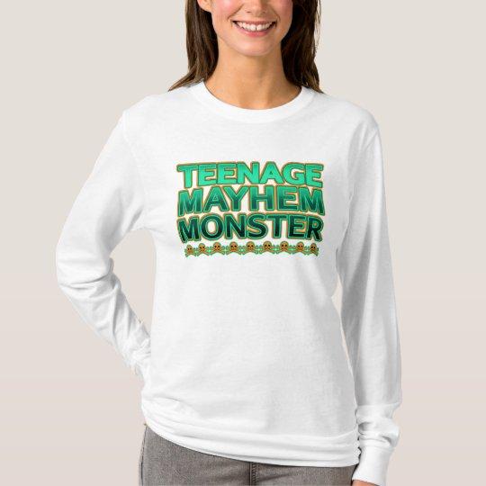 Teenage Mayhem Monster T-Shirt