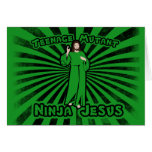 Teenage Mutant Ninja Jesus Card