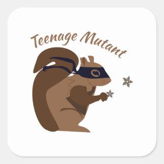 Teenage Mutant Stickers