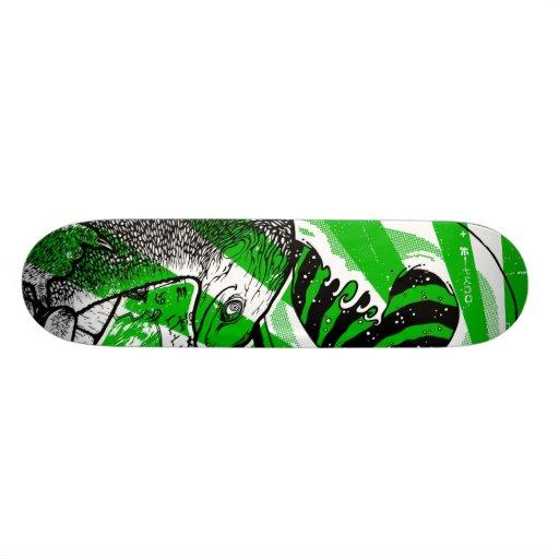 Teenage Mutant Tsunami Surfin Skateboard Deck