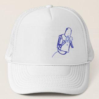 teenage robot trucker hat