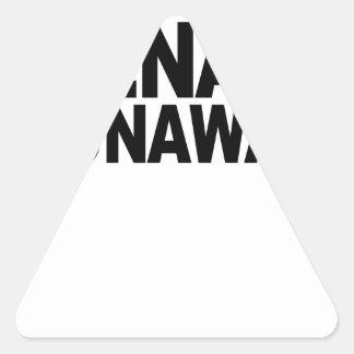 Teenage Runaway.png Triangle Sticker