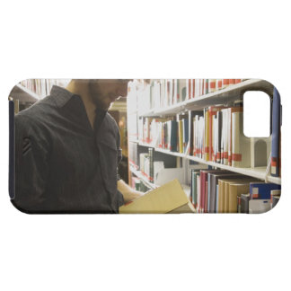 Teenage student in library iPhone SE/5/5s case