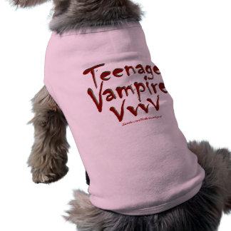 Teenage Vampire with Fangs Tee