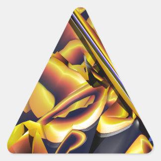 Teenage wasteland.png triangle sticker
