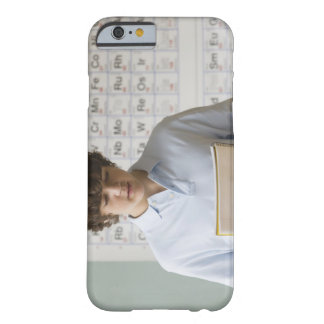 Teenaged boy giving speech in science class barely there iPhone 6 case