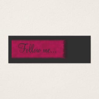 Teenager Follow me Card