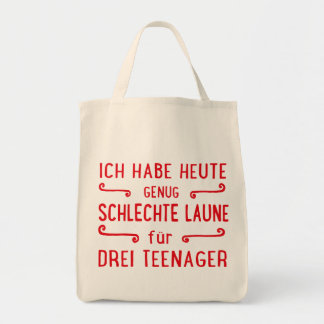 Teenager Tote Bag