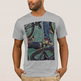 Teenagers and bikes T-Shirt