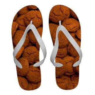 Teenslippers met pepernoten sandals