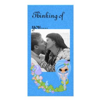Teensy Fae Cute Faery Photo Card Template
