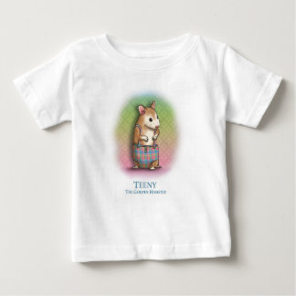 Teeny The Golden Hamster - baby T-shirt