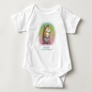 Teeny The Golden Hamster - infant creeper