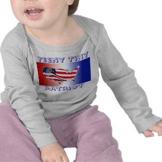 Teeny Tiny Patriot Baby Patriots Clothes Shirt
