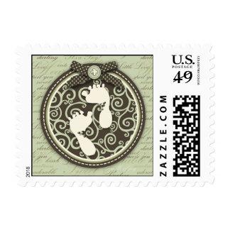 Teeny Toes GRN Stamp B