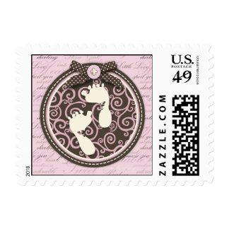 Teeny Toes PNK Stamp B