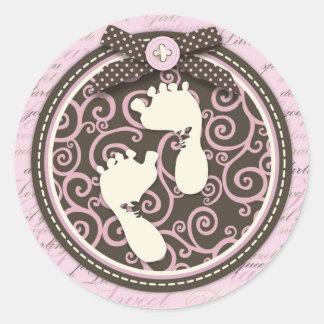 Teeny Toes PNK Sticker