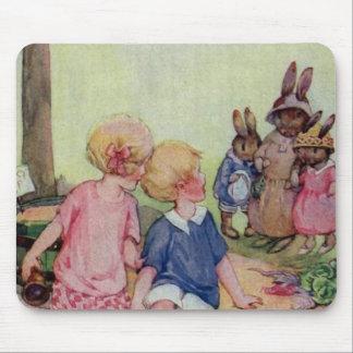 Teeny Weeny Bunny Family Mouse Pad
