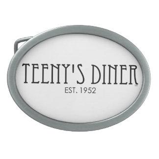 Teeny's Diner Belt Buckle