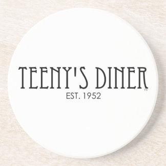 Teeny's Diner Beverage Coaster