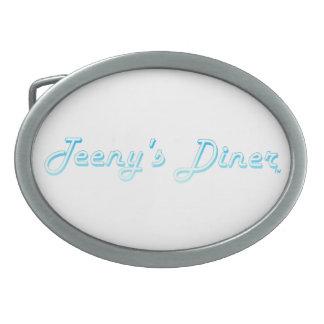 Teeny's Diner Logo Belt Buckle