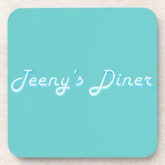 Teeny's Diner Logo Coaster