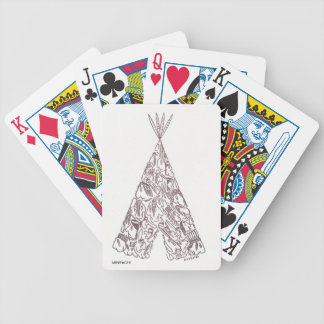 TEEPEE BICYCLE PLAYING CARDS