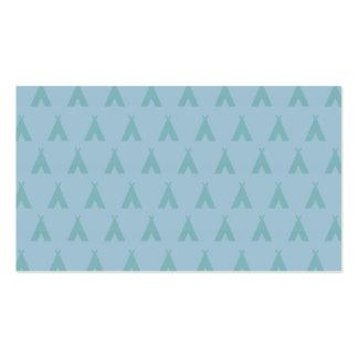 teepee blues business card template