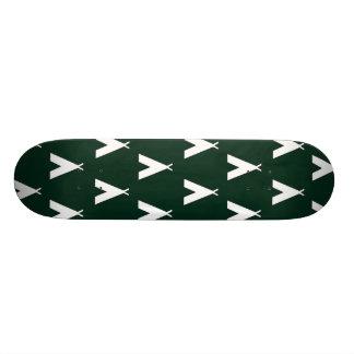 teepee green. skate decks
