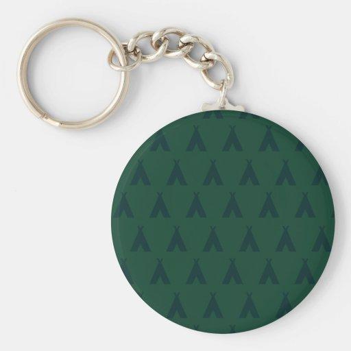 teepee greens key chains