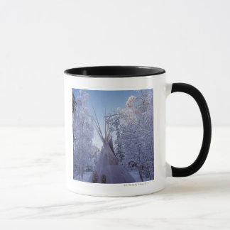 Teepee in Winter Mug