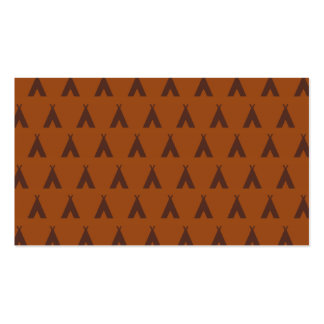 teepee oranges business cards