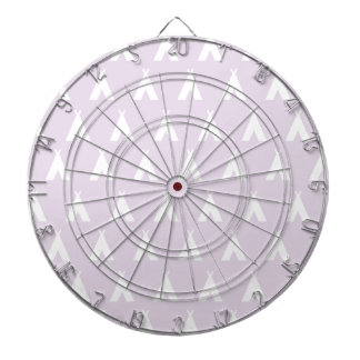 teepee pink dart boards