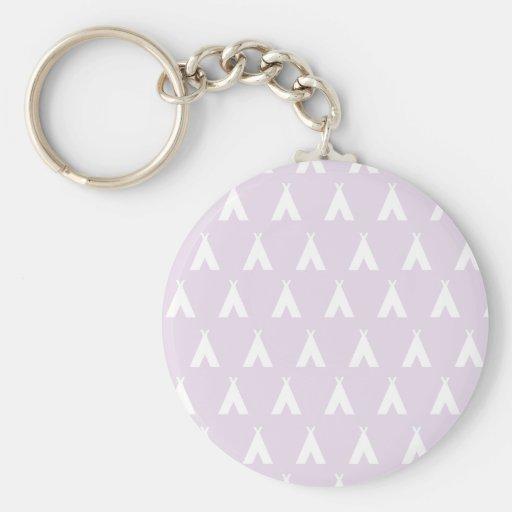 teepee pink keychains