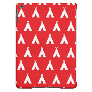 teepee red case for iPad air