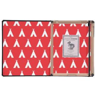teepee red covers for iPad