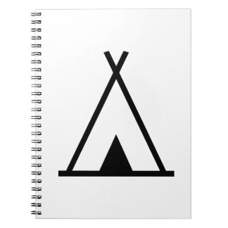 Teepee tent note books