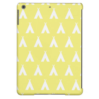 teepee yellow case for iPad air