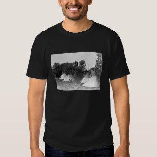 Teepees Historical Photo Shirts