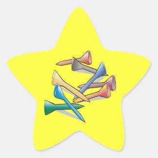 Tees Star Sticker