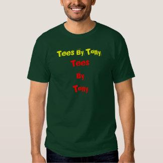 TeesByTony, camisetas de Tony Camisas