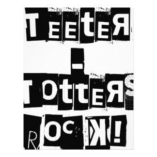 Teeter-Totters Rock Letterhead