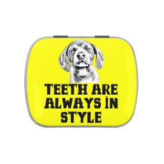 Teeth Are Always In Style - Jelly Belly Candy Tin